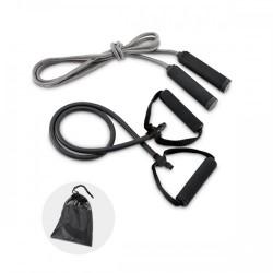 Kit elástico e corda de pular