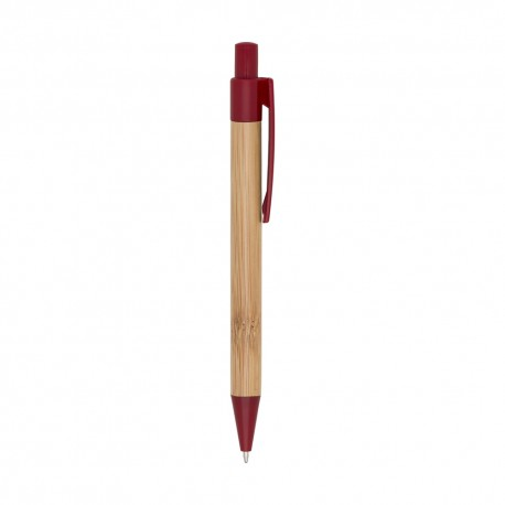 caneta ecologica promocional bambu
