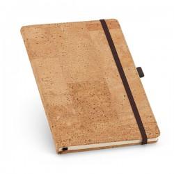 Caderno Tipo Moleskine Capa Dura Cortiça