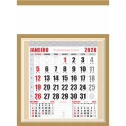 Calendário de Parede Folhinha Grande
