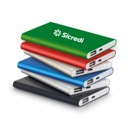 Bateria Portátil Slim Personalizada
