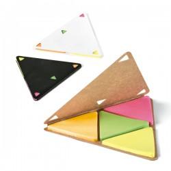 Bloco de Rascunho Post-it Triângulo Personalizado