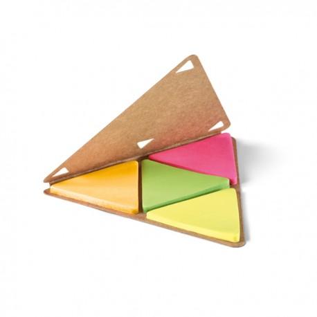 Bloco de Rascunho Post-it Triângulo Moderno Personalizado