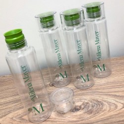 garrafa incolor personalizada