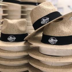 Chapéu de juta personalizado