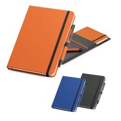 Kit de caderno e caneta SHAW