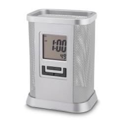 Porta Caneta Com Relógio Personalizado