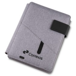 CADERNO C/ POWERBANK