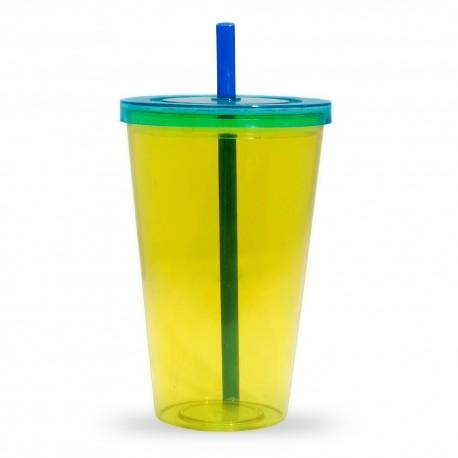 Copo Plástico 1 Litro com Tampa