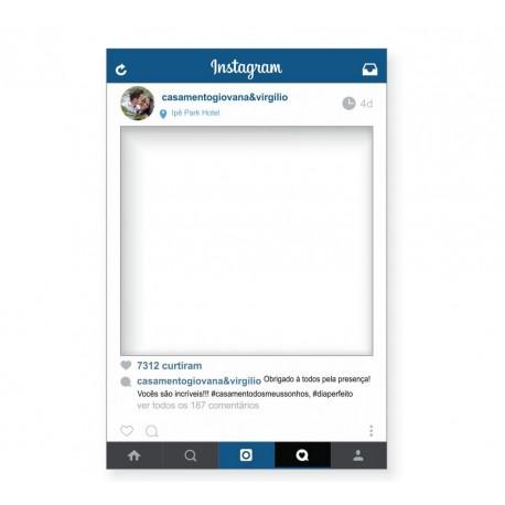 instagram placa