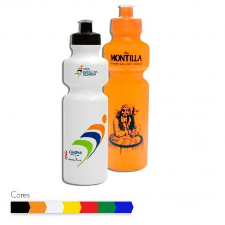 garrafa plástica squeeze 750ml