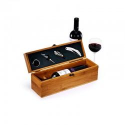 caixa com vinho personalizada