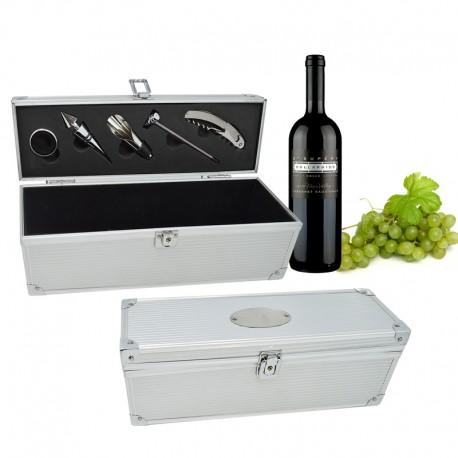 maleta para vinho personalizada