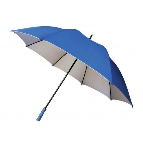 guarda chuva azul