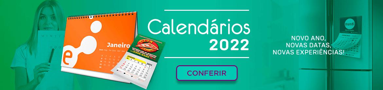 calendário personalizado 2022